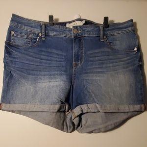 Torrid Size 20 Denim Shorts
